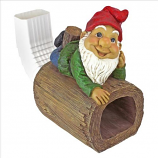 Stormie The Gnome Rain Gutter By Design Toscano