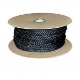 """Black Wood Stove Door Gasket Spool - 5/8"""" Rope x 65'"""