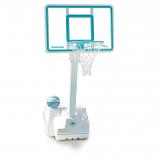 Dunn Rite B1000C Splash and Slam Portable Pool Basketball Set- Clear