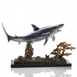 Shark with Prey 30969 By Spi Home