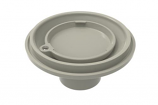 Color Match PTFR-03 Pebble Top Floor Return - Light Gray