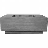 Prism Hardscapes Tavola 3 Fire Table in Pewter - NG