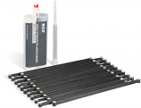 Rhino Carbon RCF-CCLK Concrete Crack Lock Kit - 20 per Pack