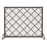 Iron Weave Single Panel Screen
