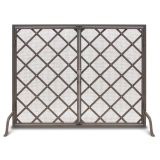 Iron Weave Single Panel Door Screen