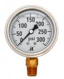Zenport LPG300 300 psi Glycerin Liquid Filled Pressure Gauge