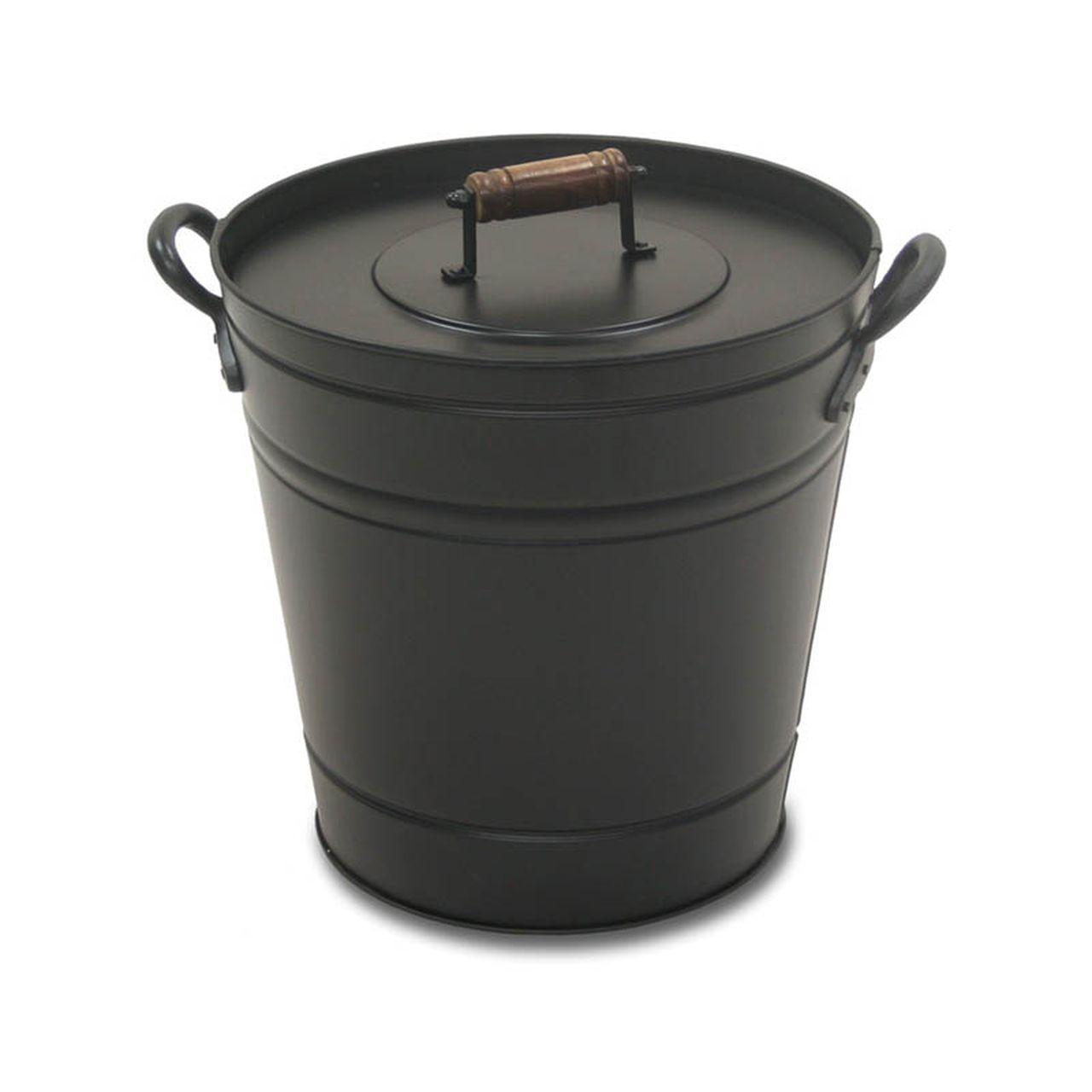 Pilgrim Black Air Insulated Ash Bucket Pro
