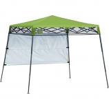 Shelter Logic 7 x 7 QS Go Hybrid Slant Leg Canopy - Bright Green