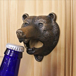 Grizzly Bear Of The Woods Bottle Opener