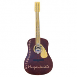 "Margaritaville Outdoor Wall Art ""Guitar"" Sign w/Bottle Opener"