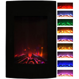 Regal Flame LW5022LE Oasis 23in Electric Wall Mounted Fireplace - Multi-Color
