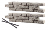 """RTS Set of 2 Straight Section Rock Lock w/ Two 18"""" Spike"""