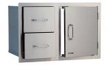 Bull Outdoor Stainless Steel Door/Drawer Combo