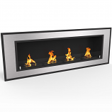 Regal Flame ER8016 Cynergy 60in Ventless Bio Ethanol Wall Mounted Fireplace