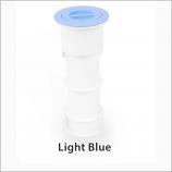 Color Match PH-09 7in Standard Pole Holder Assembly - Light Blue