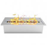 Regal Flame EBP4015 Pro 12in Bio Ethanol Fireplace Burner Insert - 1.5 Liter