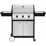Cadac 98510-31-01-US Meridian 3 Propane Gas BBQ Grill With 3 Burners