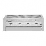 Built-In Grill with 4 Burners and Standard Hood - NG
