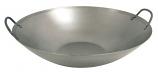 Bayou Classic 15.5 Inch Steel Flat Bottom Wok