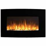 Regal Flame LW5035PF Madison 35in Electric Wall Mounted Fireplace - Pebble