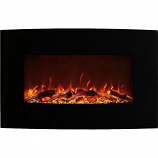 Regal Flame LW5035LE Madison 35in Electric Wall Mounted Fireplace - Log