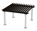 Tuscan Pergola TSC14 By Bay Pointe Outdoors