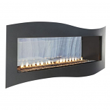 Boulevard IP Contemporary See-Through Vent-Free 36k BTU Fireplace - LP