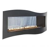 Boulevard IP Contemporary See-Through Vent-Free 36k BTU Fireplace - LP