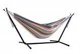 Vivere UHSDO9-31 Vivere's Combo - Double Retro Hammock with Stand- 9ft