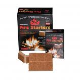 12 Pack Break N Burn Non-Toxic Fire Starter - Box of 24 squares