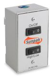 Sunpak Duplex Wall Switch for S34 TSH Heaters