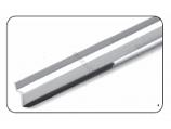Stegmeier TILEG 8ft Tile Strip for Cantilever Forms Grey