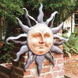 Rising Sun Wall Plaque