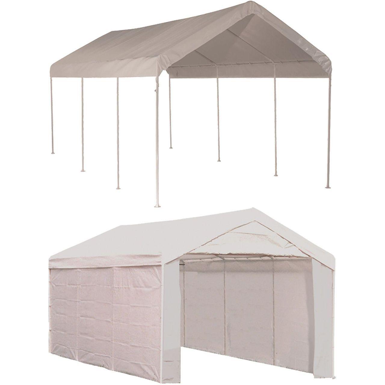 ShelterLogic MaxAP Gazebo Canopy 2-in-1 Enclosure Kit - 10x20 Ft