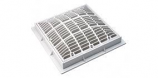 Waterway WW6424790V 9in Square Pool Cover White