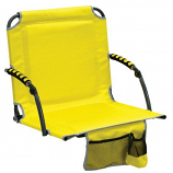 Shelter Logic 10121-408-1 Bleacher Boss Stadium Chair w/Arms - Yellow