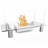 Regal Flame EF6008 Delano Ventless Free Standing Ethanol Fireplace