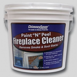 "ChimneySaver Paint ""N"" Peel Fireplace Cleaner, 1/2 Gallon"
