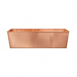 Achla C-101 Solid Copper Flower Box