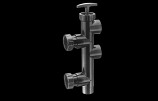 Threaded Multiport Valve Replacement Pool and Spa D.E. Filter