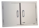 Bull Outdoor Double Door - Stainless Steel