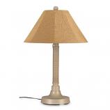 "26155- Bahama Weave 34"" Mojavi Wicker Outdoor Table Lamp"