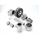 """4"""" x 6-5/8"""" Selkirk Direct-temp Up and Out Horizontal Termination Kit"""