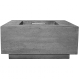 Prism Hardscapes Tavola 2 Fire Table in Pewter - NG