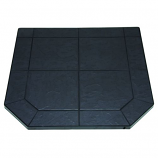 "Volcanic Sand Stove Board, Single Cut Corner, 40"" x 40"""