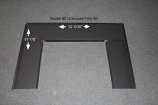 Buck Stove PA-FP-3412 Over Sized Trim Kit For 34ZC