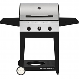 Cadac 98250-31G01-US Entertainer Propane Gas BBQ Grill With 3 Burners
