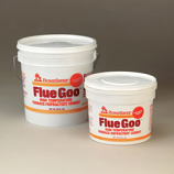 Homesaver Flue Goo Furn./Refrac. Cement Pre-Mixed 1-Gallon Tub - Buff