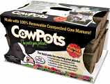 Cowpots #3 SIXCELL 3PK 3in Sixcell Cowpots 3Pots/Pack