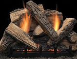 24in Intellifire Plus Natural Blaze Burner, NG, with Remote Control, 37K BTU's